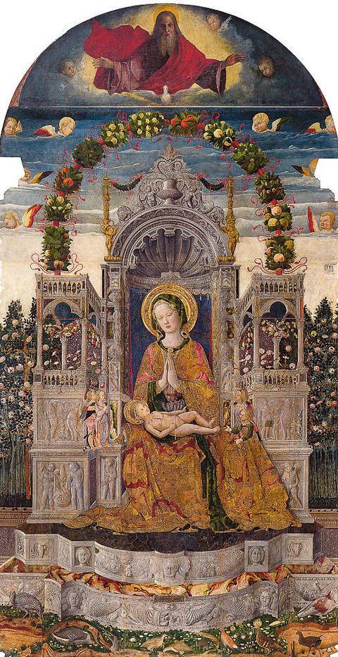 Madonna con Bambino de Antonio da negroponte