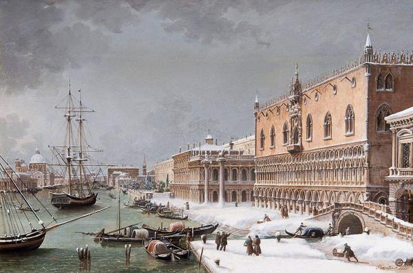 Nieve Venecia Giuseppe Borsato