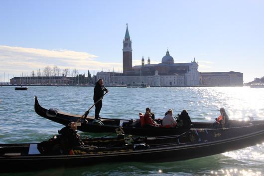Vista de la isla de San Giorgio Maggiore