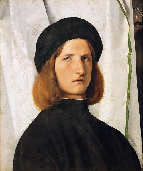 Lorenzo Lotto Joven caballero