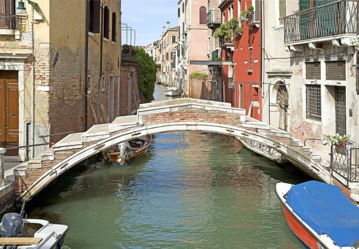 El puente Chiodo en el Río San Felice