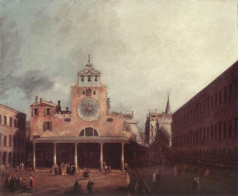 Comienza a correr el reloj de Venecia en Rialto
