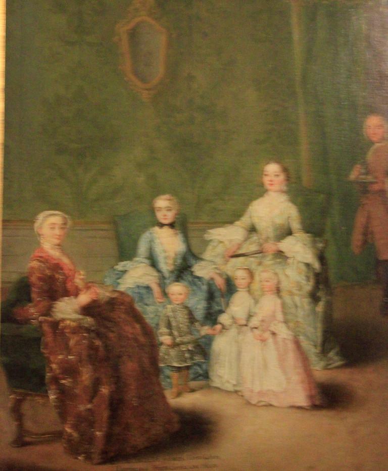 La familia Sagredo de Pietro Longhi