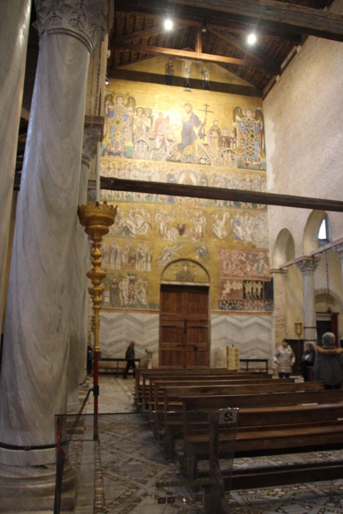 Mosaicos en la Basílica de Santa Maria Assunta: el Juicio Universal (El detalle del sufrimiento de las almas en el infierno es asombrosa)