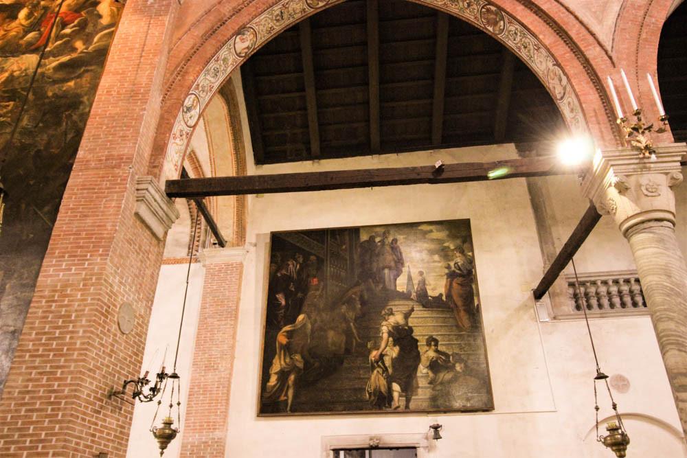 """""""PRESENTACIÓN DE LA VIRGEN EN EL TEMPLO"""" (1438)"""