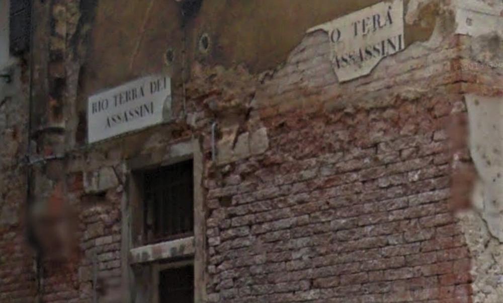 Rio Terà Dei Assasini (el Río enterrado de los Asesinos)