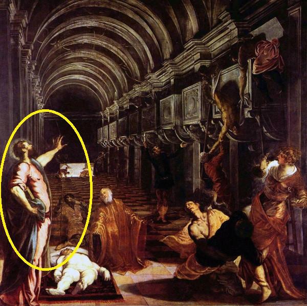 El hallazgo del cuerpo de San Marcos. Tintoretto