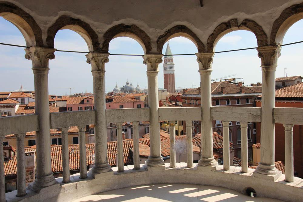 Las espectaculares vistas desde la Scala Contarini dei Bovolo