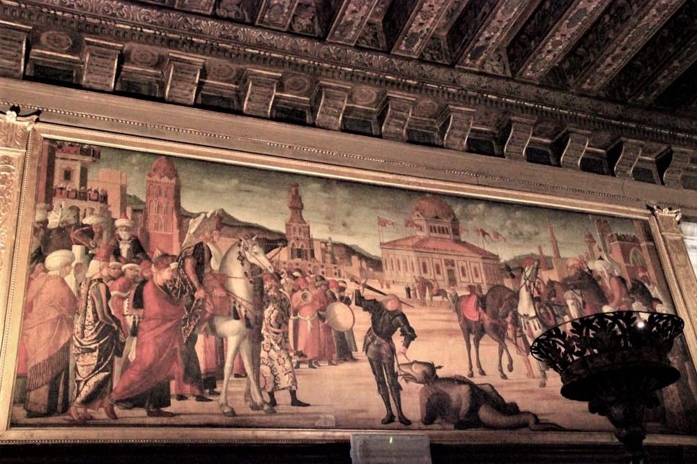El triunfo de San Jorge sobre el dragón