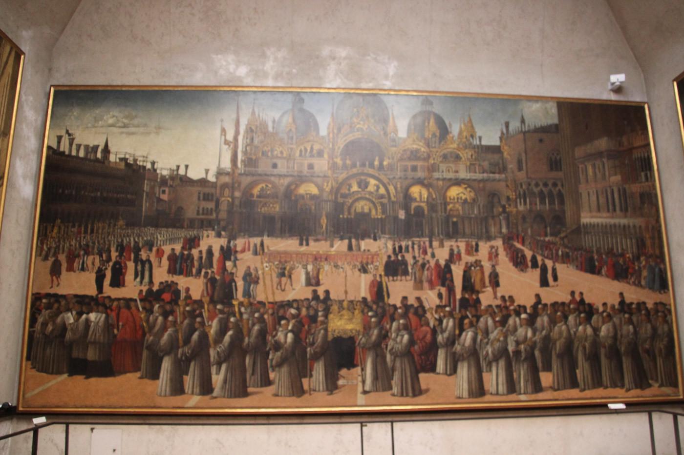 Procesión de San Marcos de Bellini