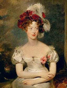 María Carolina de Borbón, Duquesa de Berry