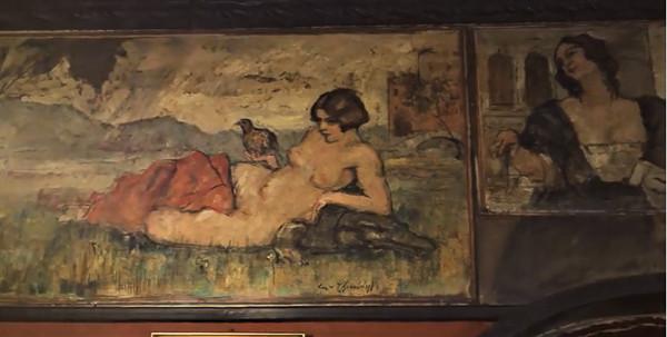 Frescos de Cherubini Poste Vecie