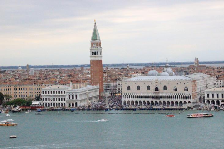 Vista desde la isla San Giorgio Maggiore