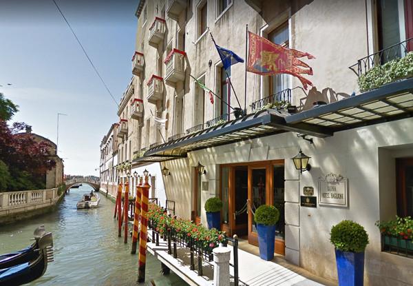 Fachada del hotel Luna Baglioni