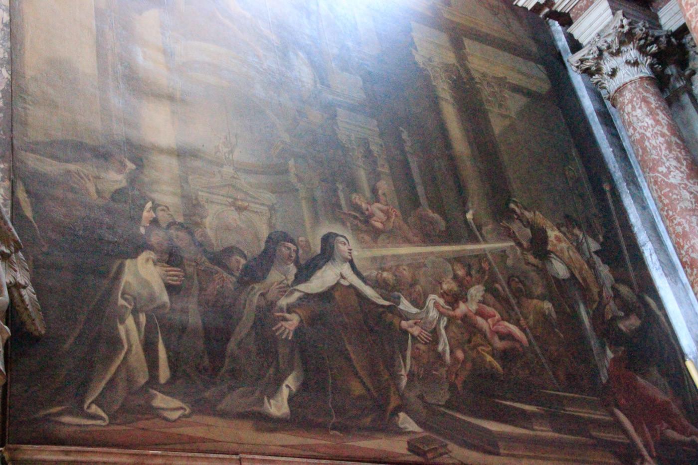 Milagrosa Comunión de Santa Teresa de Jesús de Bambini