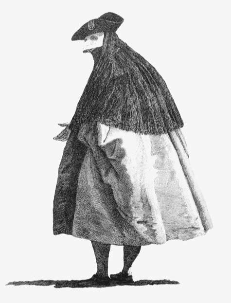 El tabarro veneciano que los tàgia-tabàri cortaban