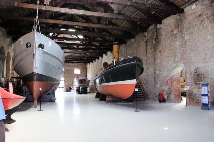 pabellón de las naves