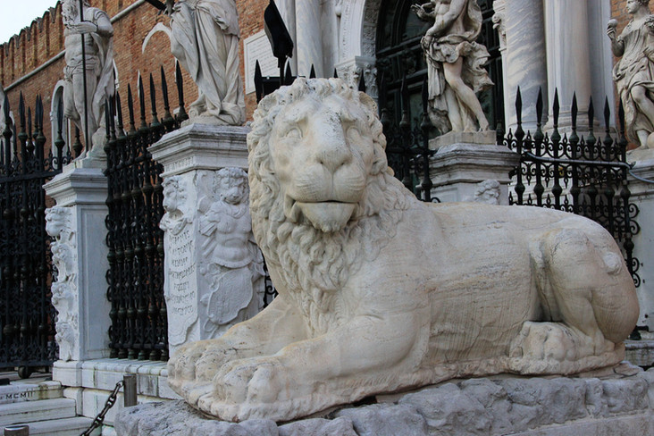 El otro león del Piero