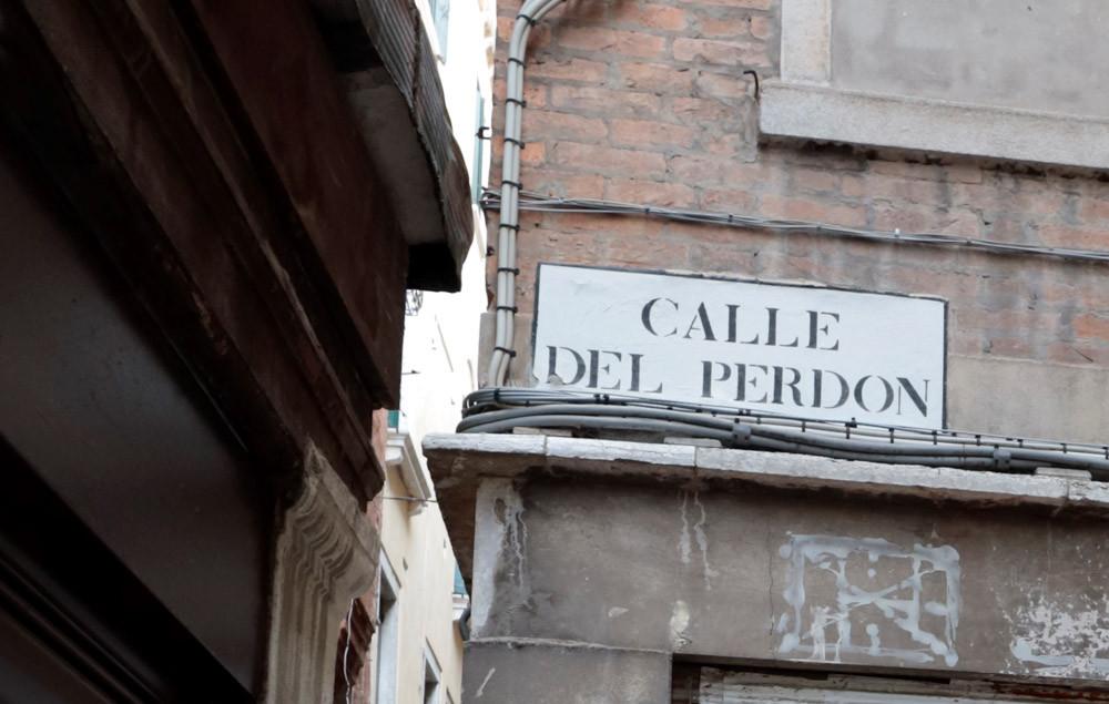 La calle del Perdón Venezia