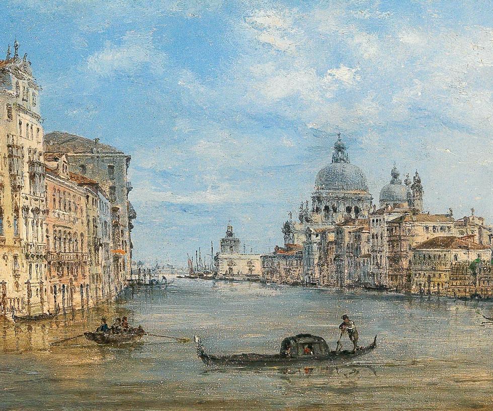 ANTGiovanni_Grubacs_-_Venice,_a_view_of_