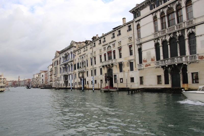 Los 4 palacios Mocenigo, de izquierda a derecha: Casa Nuova; Il Nero (2) y Casa Vecchia