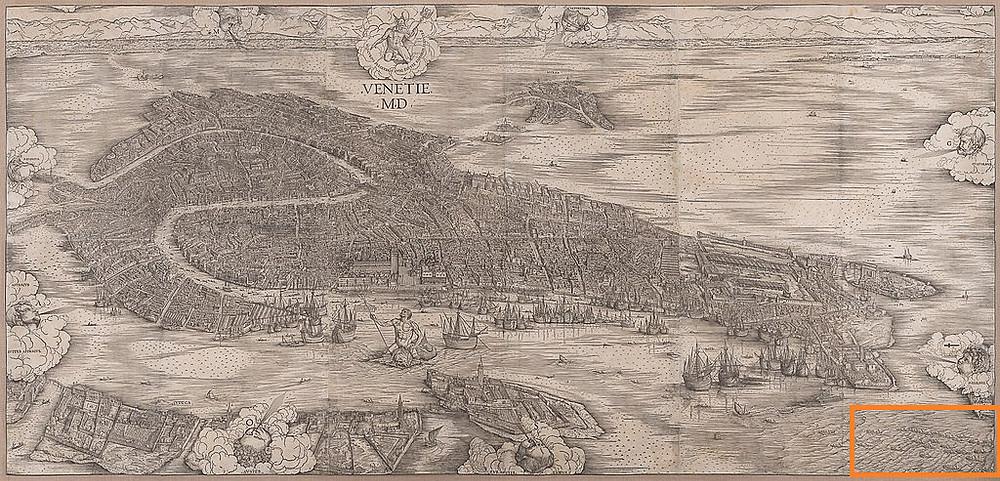 Mapa de Jacopo de 'Barbari (1500)
