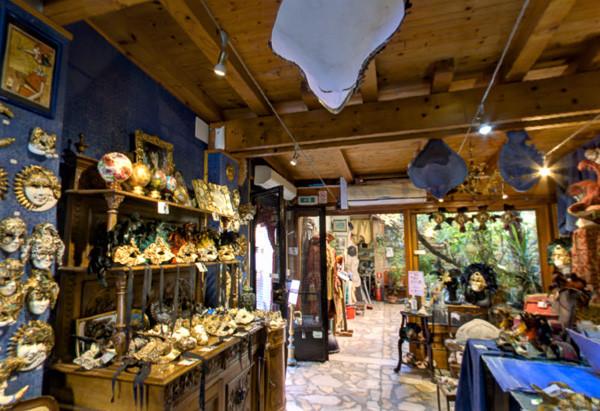 "Vista interior del showroom ""Casin dei Nobili"""
