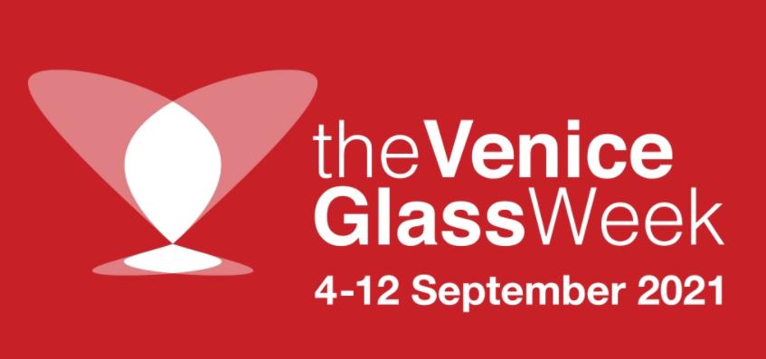 Logo de la edidión de la Venice Glass Week 2021