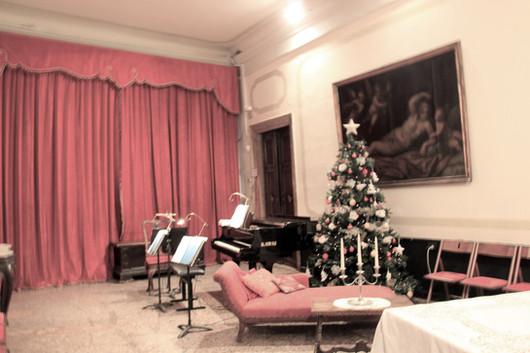 Una de las habitaciones donde se representa Ópera