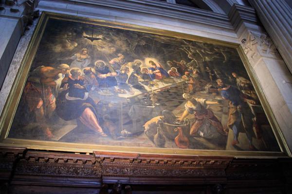 La Última Cena de Tintoretto
