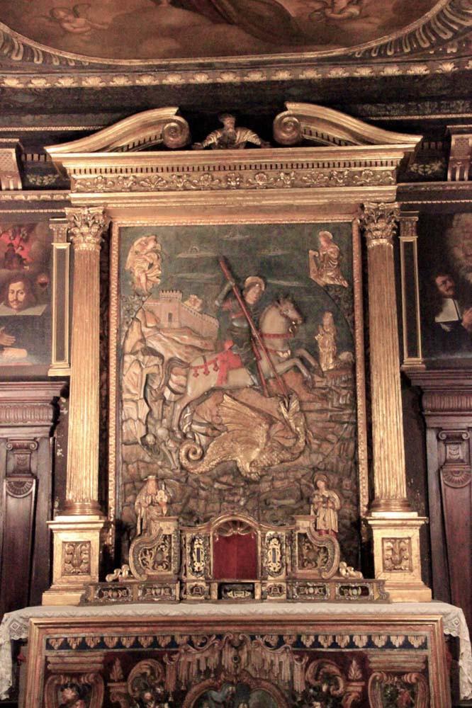 San Jorge también en la planta superior Carpacio