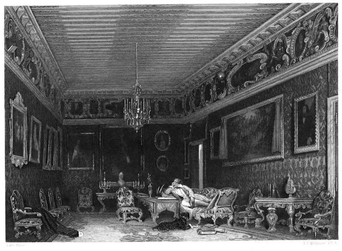 La habitación de Lord Byron