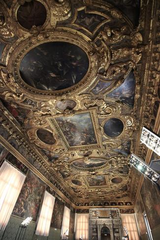 Detalle techo Sala Mayor