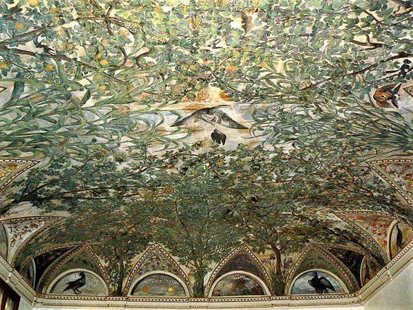 La sala a Fogliami o del follaje Foto: Paperoastro, CC BY-SA 3.0 <https://creativecommons.org/licenses/by-sa/3.0>, via Wikimedia Commons