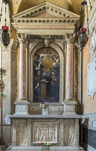 Capilla Clary donde está enterrada una princesa francesa