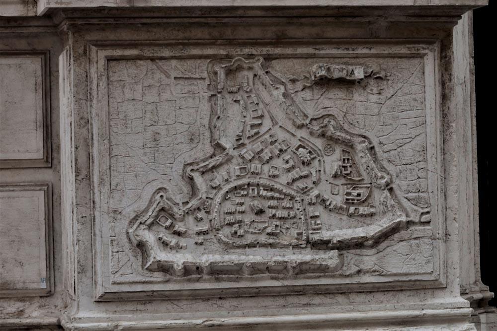 Mapa de Padova