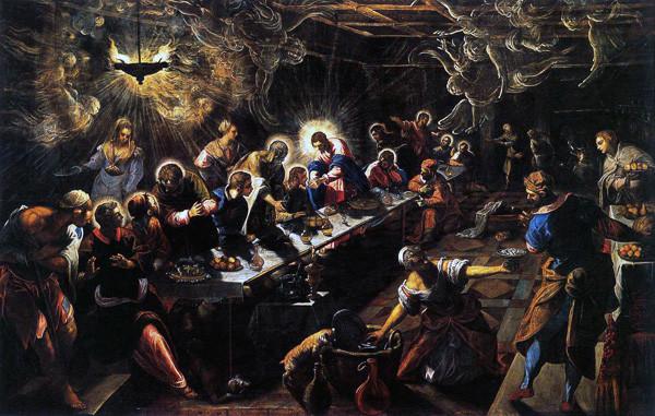 Última Cena (Tintoretto)