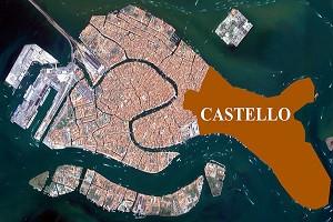 De paseo por Venecia: Castello en 3D