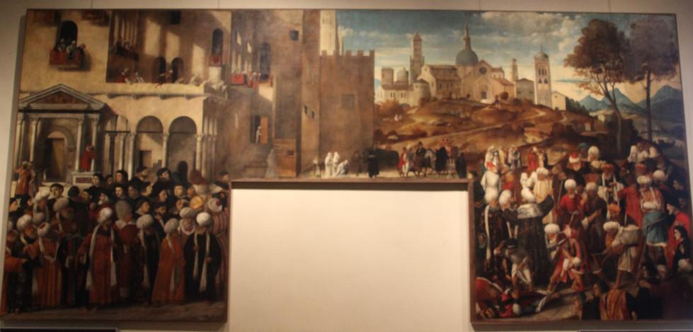 Martirio de San Marcos de Bellini