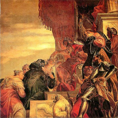 Coronación de Esther de Veronés
