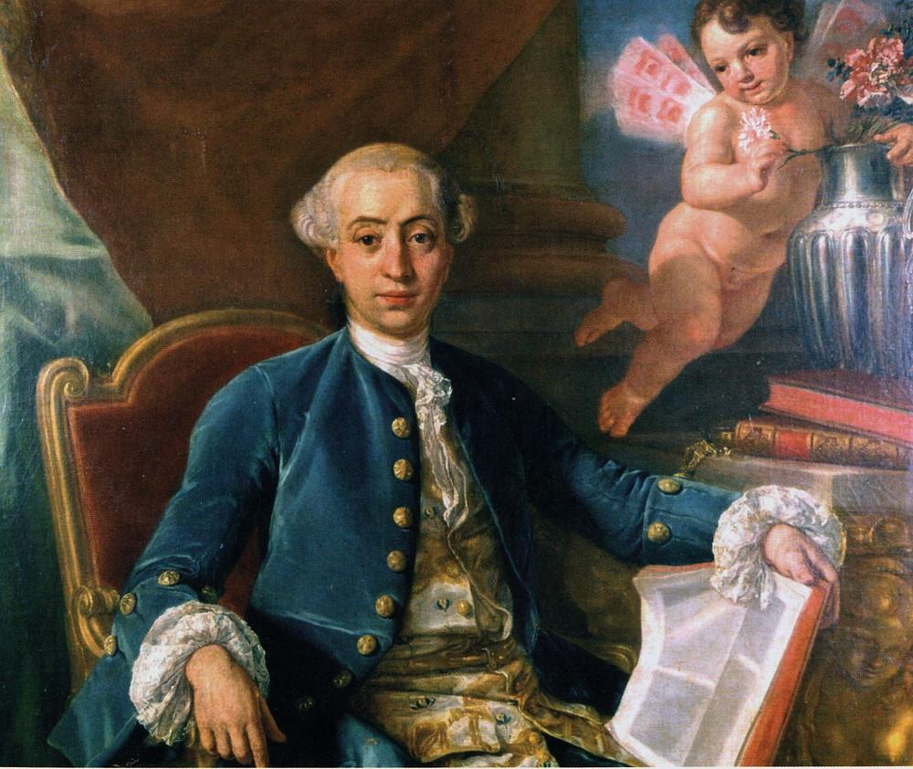 Otro retrato de Casanova