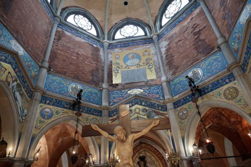 Interior de la iglesia de San Cristoforo