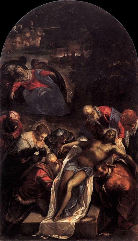 """""""La deposición de Cristo"""" (1594)"""