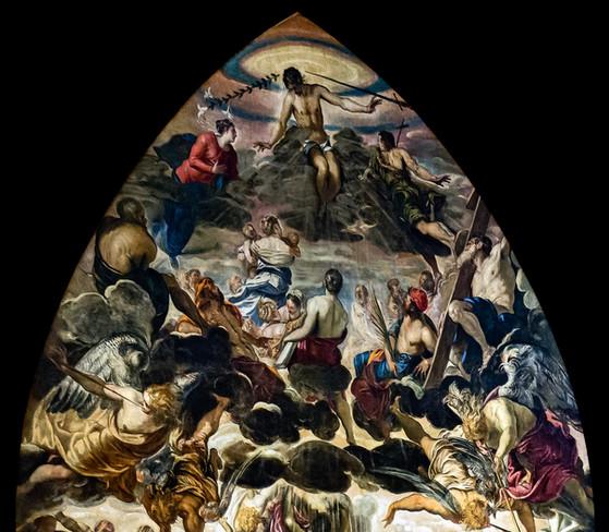 El Juicio Final de Tintoretto