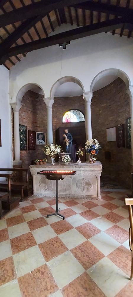 Interior del oratorio dell'Annunziata