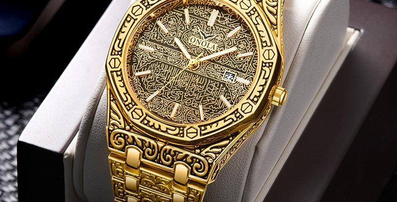 Fashion Watch Men Brand ONOLA 2021 New Luxury Classic Designer Stainless Steel