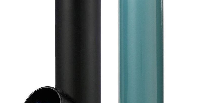 -2021-Stainless Steel Smart Water Bottle, Leak Proof, Keep Drink Hot & Cold
