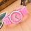 Thumbnail: 2021adidas Famous Brand Women Sports Watch Casual Ladyes Silicone Dress Watches