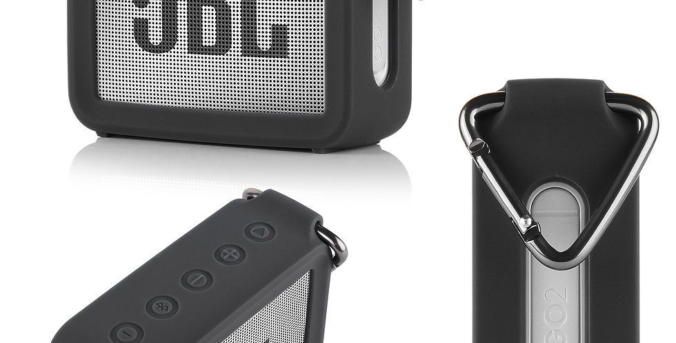 2021-New Silica Gel Storage Pouch Audio Case for JBL GO 2 GO2 Bluetooth Speakers