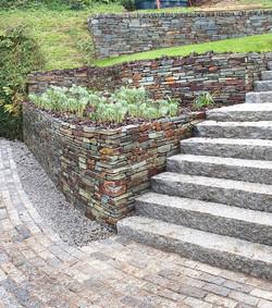 Cornish Slate wall